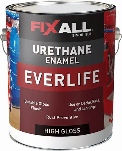 Enamel Urethane Alkyd Dry Gloss Fast Fixall