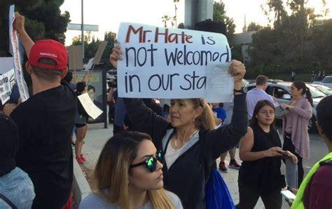 PHOTOS: Donald Trump Los Angeles Immigration Protest