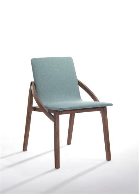 modrest jett modern blue fabric dining chair timeless
