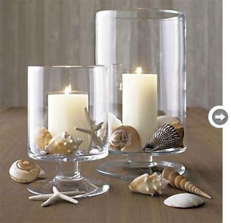 Decorating Ideas Using Seashells by Seashell Decor Seashells And Candles By Catrulz