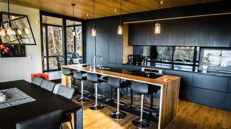 photo cuisine moderne la sotto armoires de cuisine moderne ateliers jacob