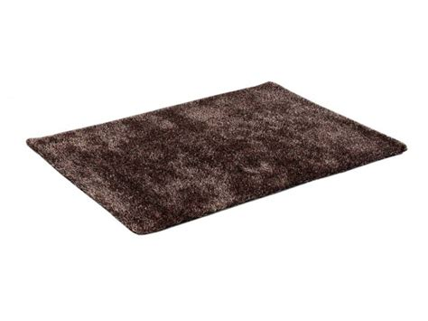 tapis shaggy cocoon chocolat polyester 120 170 cm