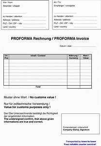 Rechnung In Die Schweiz Muster : vorlage proformarechnung download kostenlos ~ Themetempest.com Abrechnung