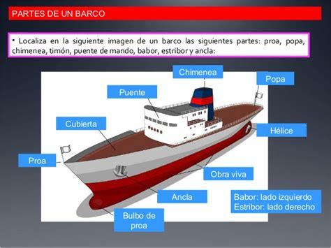 Un Barco Cuantas Anclas Tiene by Partes De Un Barco En Ingles El Pr 237 Ncipe De La Niebla