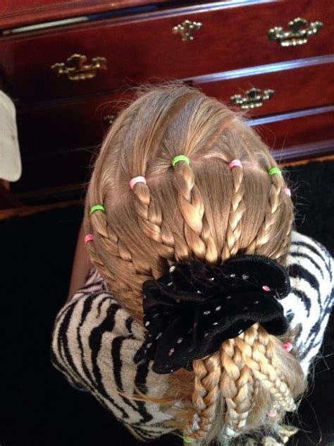 gymnastics hairstyle hairstyles pinterest style