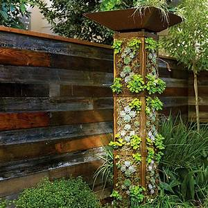 DIY a Vertical Garden Tower — Sunset Apartment Therapy