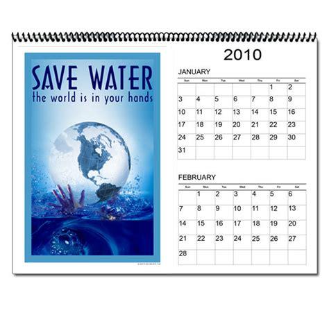 ai wc  water conservation  month calendar