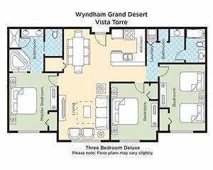 wyndham grand desert armed forces vacation club With wyndham grand desert room floor plans