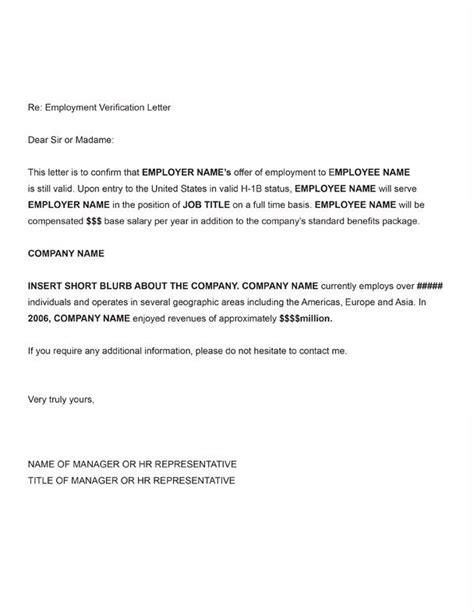employee verification letter printable sle letter of employment verification form 7974