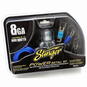 Stinger Sk181 8 Gauge 800 Watts Power Amplifier