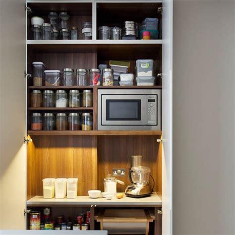 Kitchen Larder Uk by Kitchen Larder Unit Modern Blue Black Kitchen Kitchen