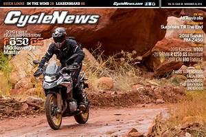 Cycle News Magazine #46: 2019 BMW F 850 GS, ISDE, Valencia MotoGP...
