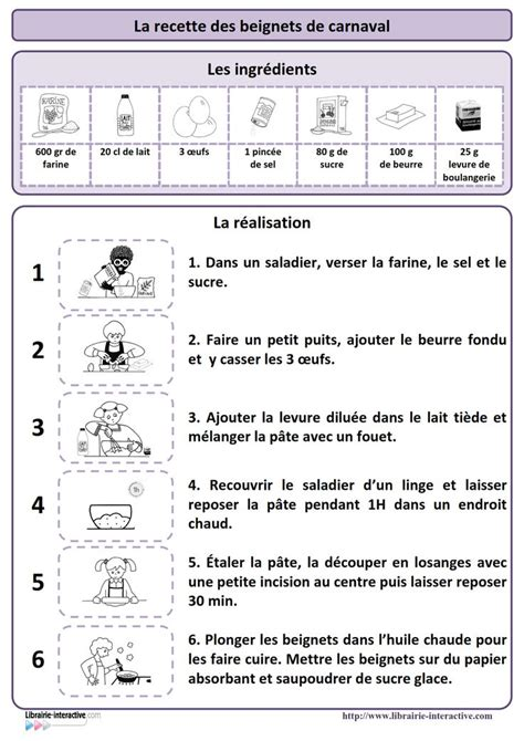 recette de cuisine ce1 125 best images about recette cuisine maternelle on