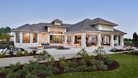 house with wrap around porch exterior landscape one home building plans
