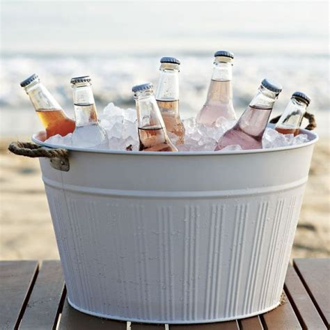 cooler tubs for drinks outdoor chest beverage cooler ideas for your patio or deck