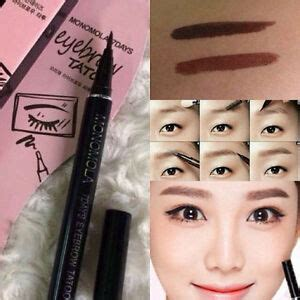 waterproof brown  days eye brow eyebrow tattoo  liner