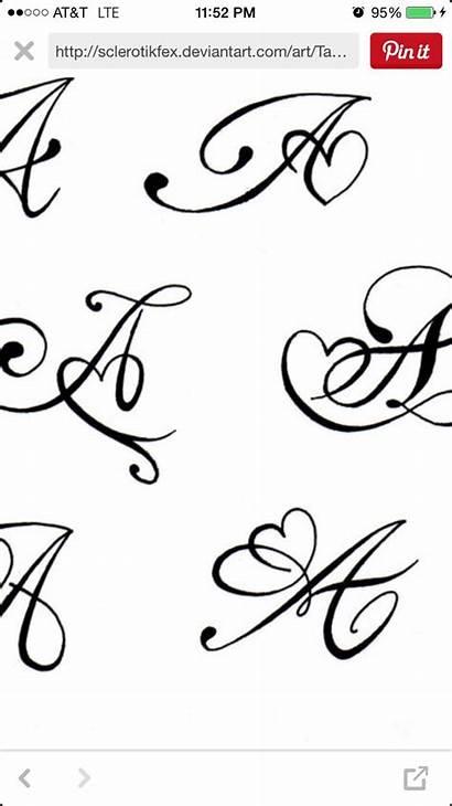 Daughter Tattoo Tattoos Mehndi Thinking Alphabet Designs