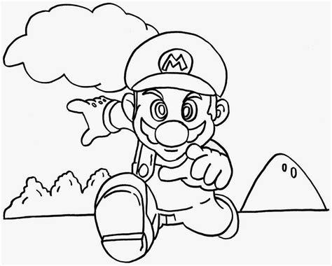Super Mario Coloring Pages Coloringsuitecom
