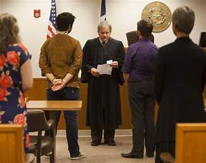 texas judge changes wedding ceremony after supreme court With justice of the peace wedding ceremony