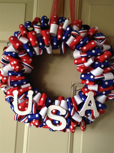 festive july  diy wreaths easy simple inspired
