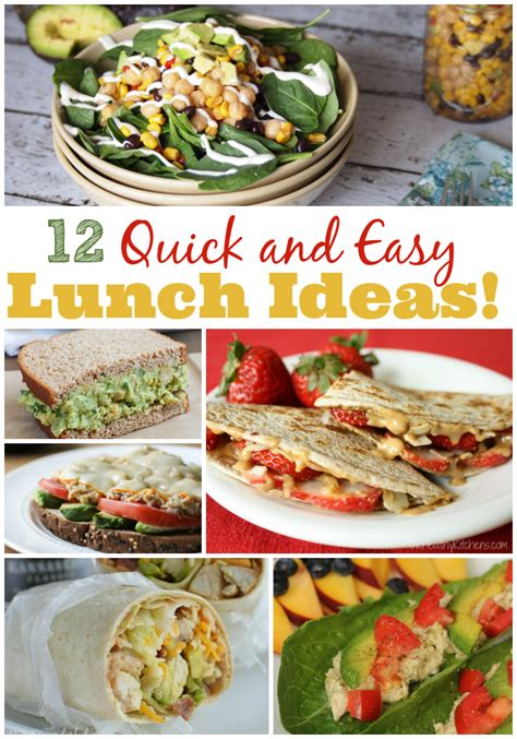 Quick And Easy Lunch Ideas  The Weary Chef. Landscaping Ideas Edging Flower Beds. Kitchen Design Parsippany Nj. Hairstyles Anime. Hairstyles Bangs. Bathroom Ideas On A Budget Australia. Cake Ideas To Announce Pregnancy. Home Ideas Outside. Desk Organization Ideas Home