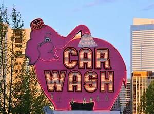 Russ Journal Car Wash Neon in Seattle