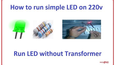 How Run Simple Led Easy Step With