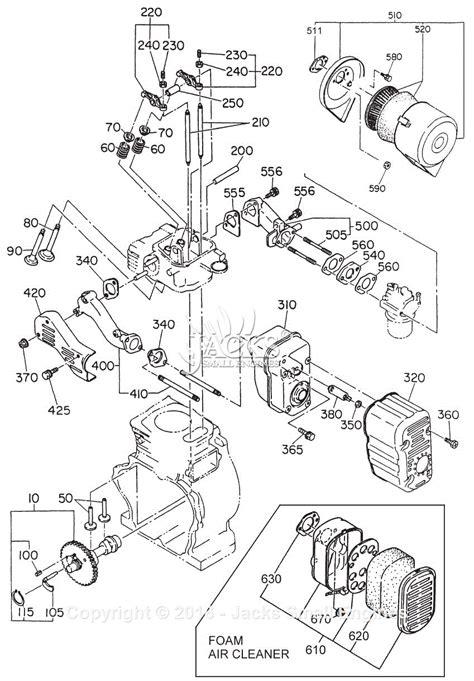 robinsubaru eh parts diagram  intakeexhaust
