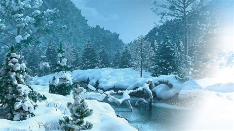 Hight Mountain Snow 1920 X 1080