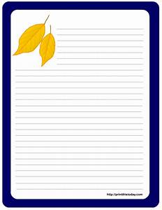free printable thanksgiving stationery With letter writing pad