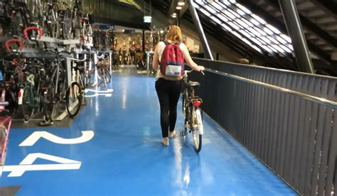 utrechts latest indoor bicycle parking facility bicycle
