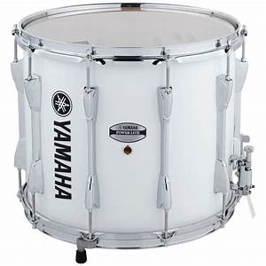 Yamaha Power-Lite Marching Snare Drum - White - 14x12 ...