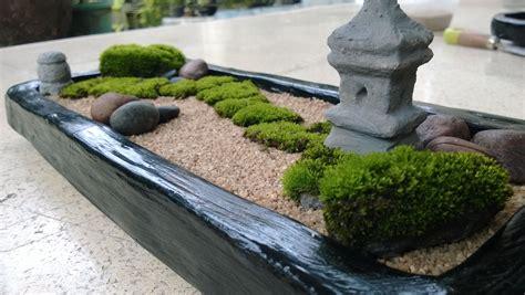 Zen Garten Miniatur by Diy Your Own Mini Zen Garden Absolutely The Moss I