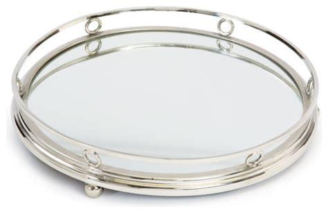 GO HOME LTD Geometric Round Bar Tray   Serving Trays   Houzz
