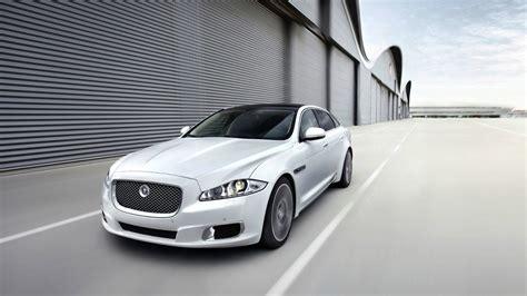 White Jaguar Car Picture