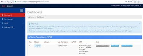 Kumpulan alternatif cara cek no npwp (online. Status Npwp Ne Artinya - Begini Cara Mudah Cek Npwp Online Akseleran Blog / 05 artinya wajib ...
