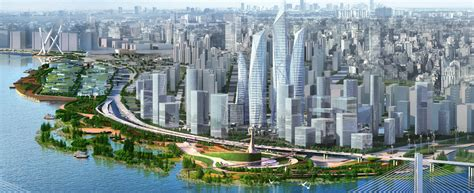 Nanjing Waterfront Landscape Planning and Design – Atkins