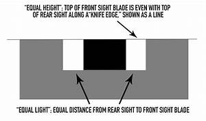 Equal Height  Equal Light  Getting Your Pistol Sights On