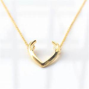Aliexpress.com : Buy Fashion Deer Horn Antler Necklace ...