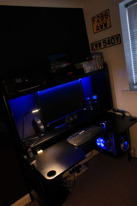 Led Lights For Room Ikea by Loving My New Ikea Fredde Desk With Dioder Led Lights And