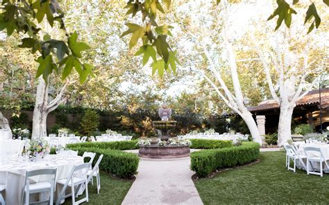 garden wedding venues los angeles outdoor wedding