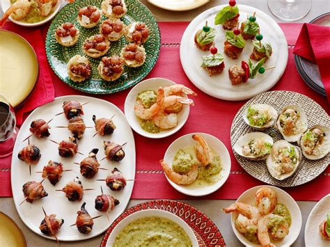 retro  bite holiday appetizers food network holiday