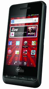 PCD Chaser 3G Android Phone for Virgin Mobile - Black - Good Condition : Used Cell Phones, Cheap ...
