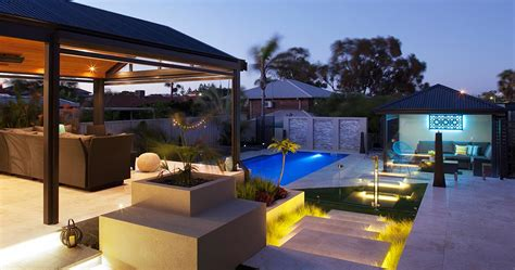 alfresco landscaping outdoor living area patio living