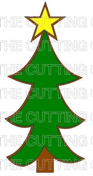 christmas huge template the cutting cafe huge christmas tree set template