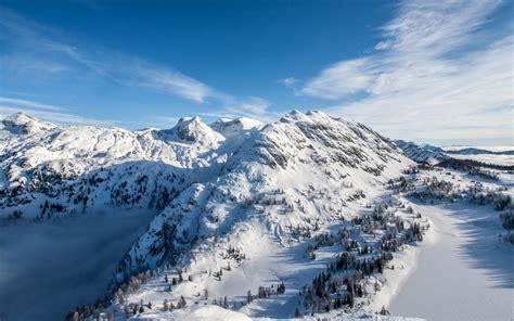 Wallpaper Alps Mountains, Winter, Hd, Nature, #5382