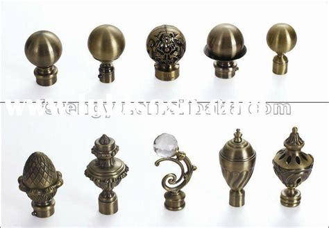 Target Curtain Rod Ends by Curtain Finial Rooms