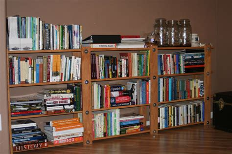 Simple Bookcase Design by Cheap Easy Low Waste Bookshelf Plans 5 Steps With