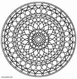 Kaleidoscope Pages Coloring Print Simple Geometric Printable Pattern Sheets Illusion Template Cool2bkids Easy Optical sketch template