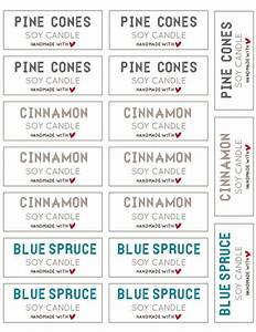 1000 ideas about candle labels on pinterest candle With free printable candle labels